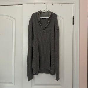Calvin Klein quarter zip sweater